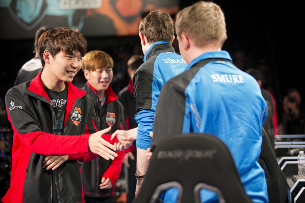 Then the LPL picked up another 100 points for Team Ice after defeating the  LMS All-Stars.