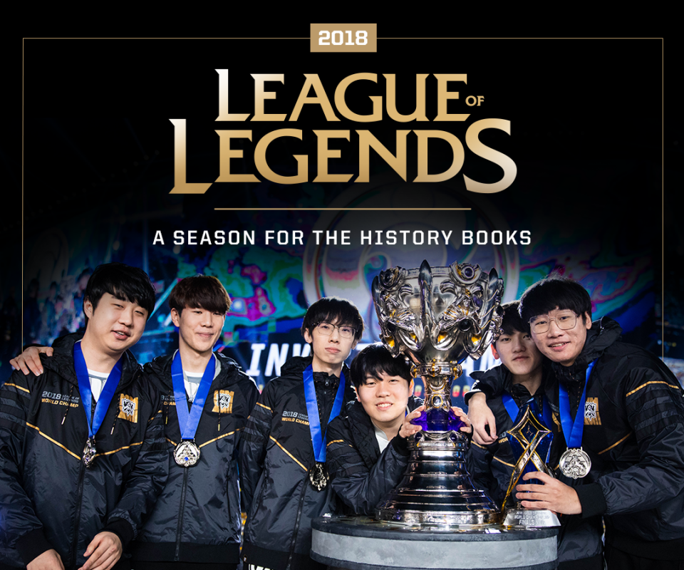 2018 Events By the Numbers – League of Legends